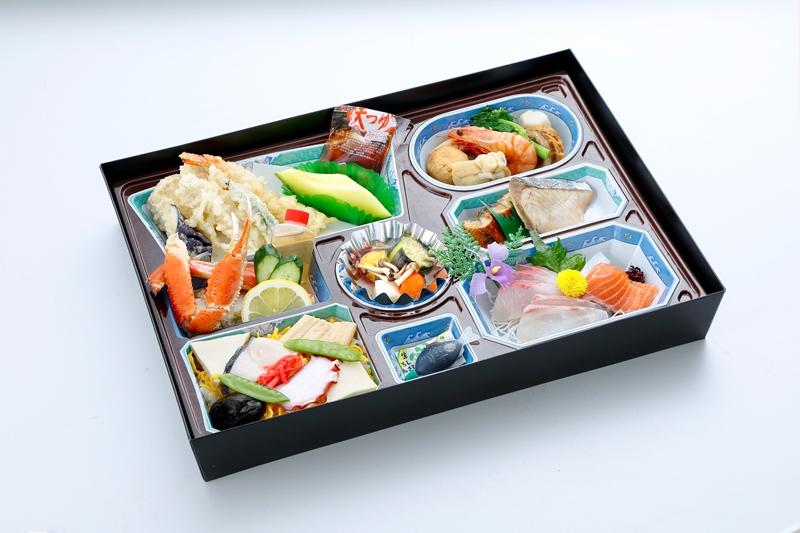 パック膳(バラ寿司入り)