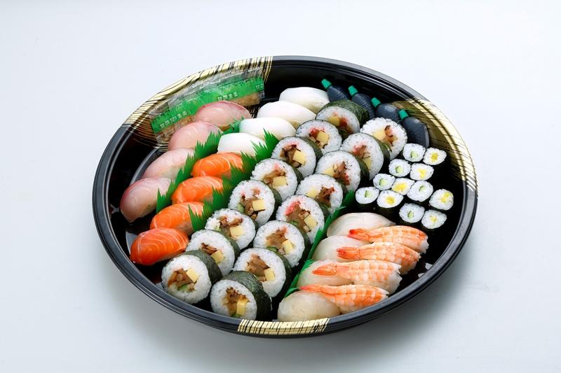 にぎりと巻寿司盛合せ